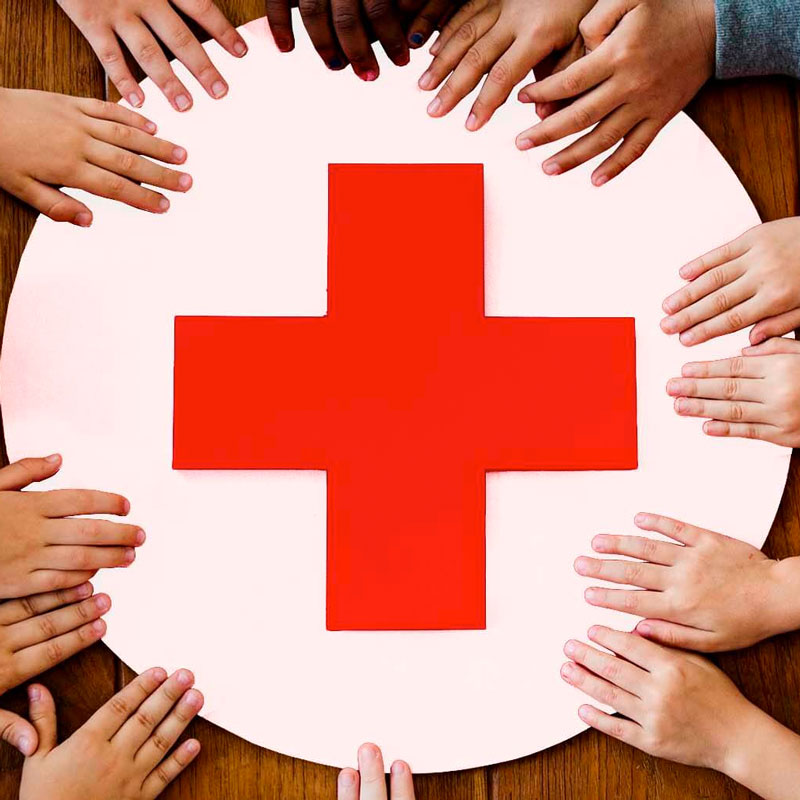 red cross - Home
